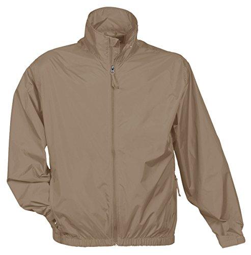 Tri Mountain Men's Lightweight Water Resistant Jacket,
