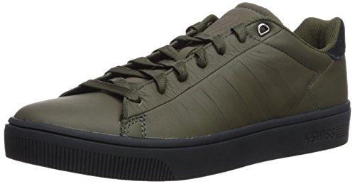 K-Swiss Men Court Frasco Sneaker, White Olive/Stretch Limo