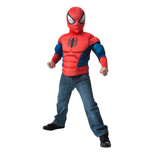 Marvel Spider-Man Muscle Chest Shirt Set -