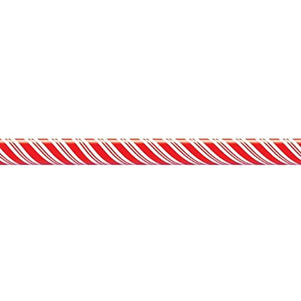 Candy Cane Stripes Border