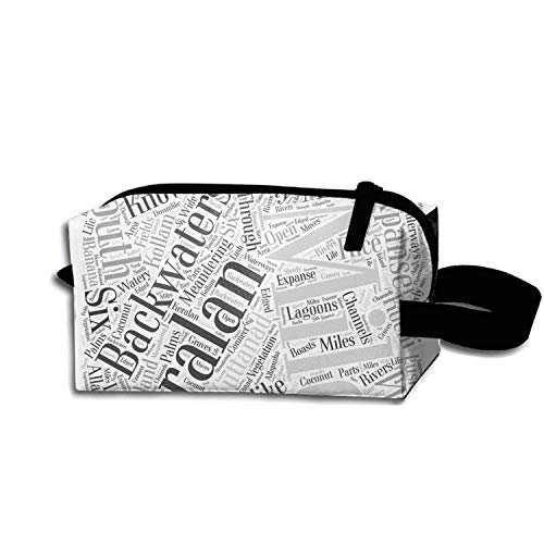512d7a9d580c Amazon.com : Cosmetic Bags Travel Portable Makeup Pouch Trip To ...