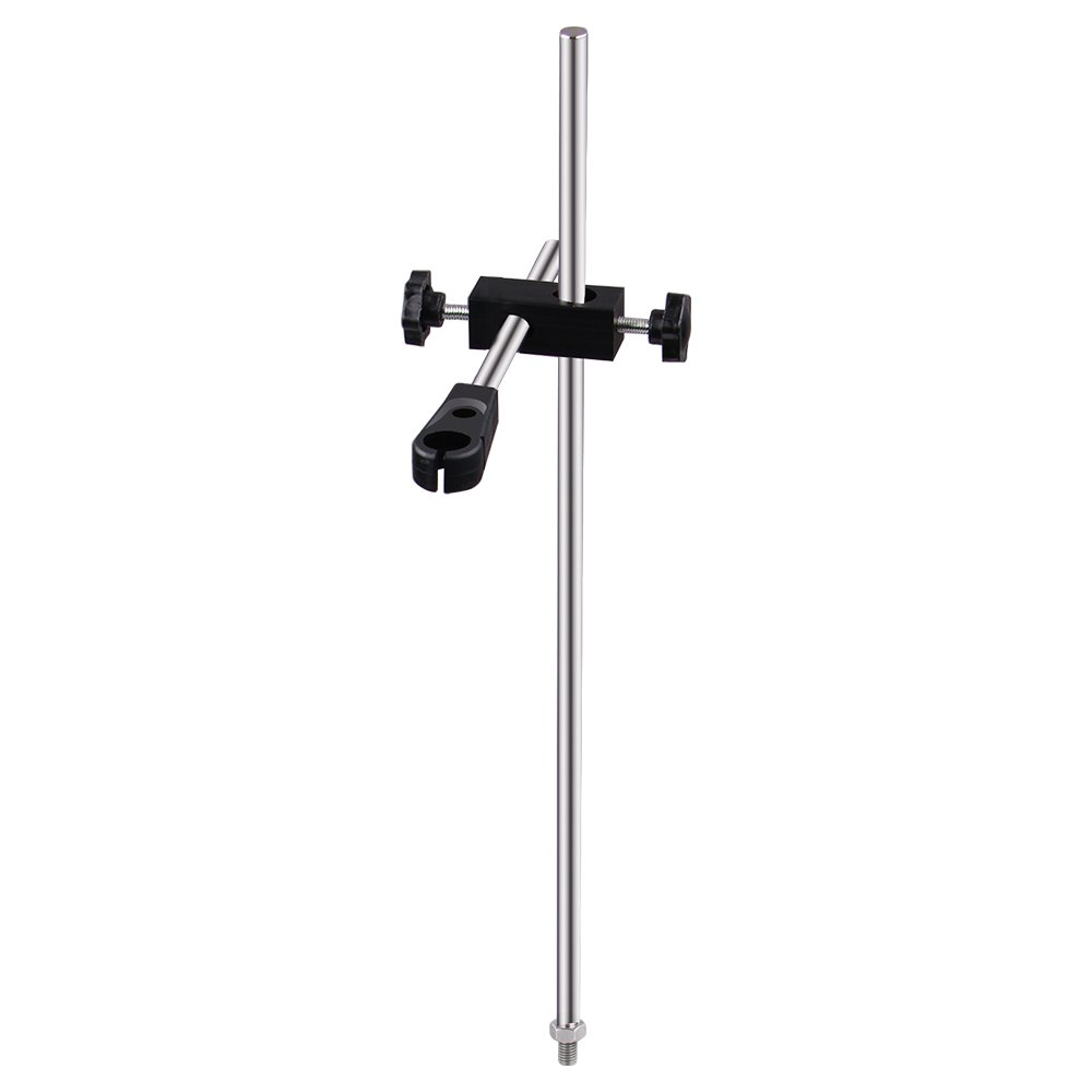 Magnetic Stirrer Stand, Four E's Scientific Metal Holder Height-Adjustable for Temperature Sensor (only Ideal for''Four E's Scientific'' Lab Mechanical Mixer Stirrer) by FOUR E'S SCIENTIFIC