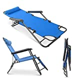 Best Lounge Chairs - Teekland Folding Camping Reclining Chairs,Portable Zero Gravity Chair,Outdoor Review