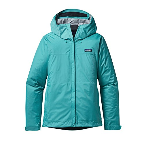 "Turquoise Cappuccio Con Giacca Da ""torrent"" Donna Patagonia Howling nHpxFqC"