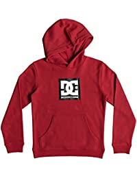 Big Boys' Square Star Pullover Hoodie Fleece Jacket Youth