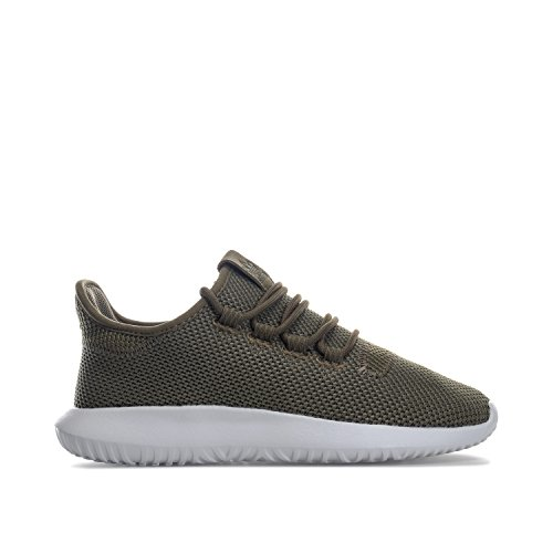 Amazon.com: adidas Originals Boys Tubular Shadow Knit Trainers US4.5 Green: Shoes