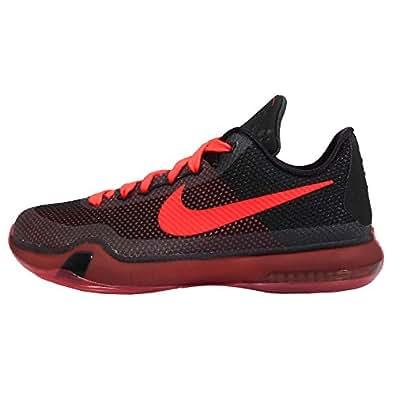 Amazon.com: Nike Kid's Kobe X GS, BLACK/BRIGHT CRIMSON