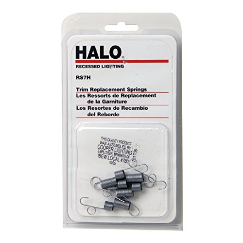 Halo RS7H, Replacement Coil Springs for Use with Trims - Blister Pack Of (Spring Lighting)