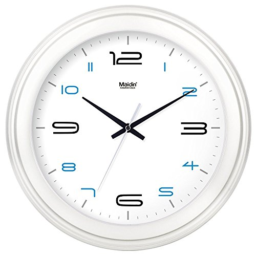 Amazon Com Fortunevin Wall Clock Non Ticking Number