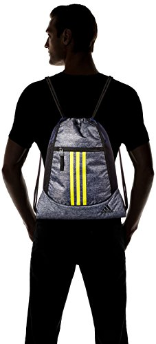2e68525ef47c adidas Alliance II Sackpack-Onix Jersey Dark Blue Shock Yellow Black ...