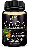100% Organic Maca Extract 750mg – 60 Capsules – Natural Peruvian Maca Root