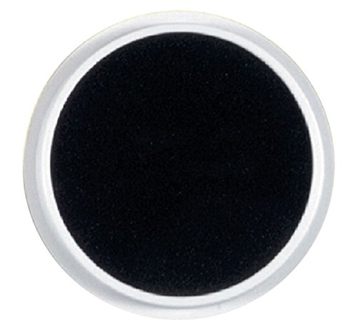 Center Enterprise CE6606 READY2LEARN Circular Washable Pad, Black Jumbo Washable Circular Ink Pads