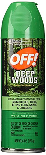 OFF! Deep Woods Insect Repellent 6 Ounce Spray (2 Pack)