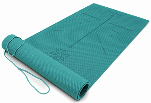 Top 10 Yoga Mat With Lines For Alignment Of 2019 No