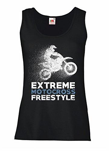 Donna Cotone Mc001 Motocross Canotta LaMAGLIERIA Maglietta 100 Freestyle Extreme 1wqBUp58