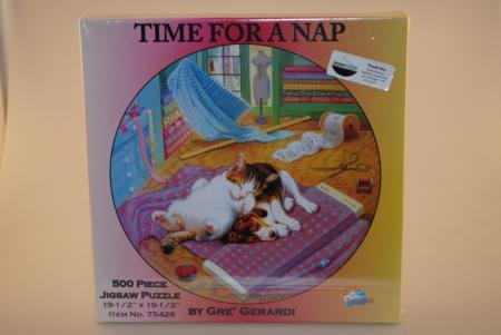 Time for A Nap 500Piece Jigsaw Puzzle by Gre' Gerardi