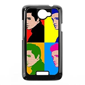 Elvis 003 HTC One X Cell Phone Case Black TPU Phone Case RV_551755