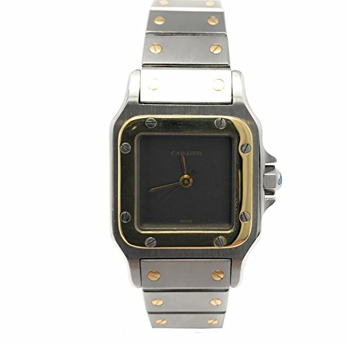 Cartier Santos Galbee swiss-automatic womens Watch W20012C4 (Certified Pre-owned)