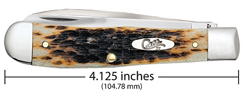 Case Amber Bone Equestrian Pocket Knife by Case (Image #2)