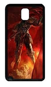 3D Angry Soldiers Custom Designer Samsung Galaxy Note 3 / Note III/ N9000 - TPU - Black