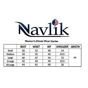 Navlik Women's Crepe Straight Kurta (Pack of 2)