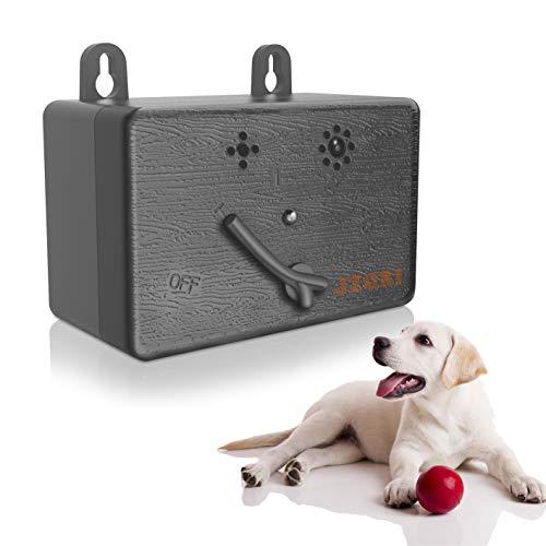 JZORI Anti Barking Control Device, Upgraded Ultrasonic Dog Bark Deterrent, 50FT Mini Sonic Anti-bark Repellent, Ultrasound Silencer No Bark Training Control Device for Pet Dogs Training