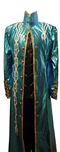 Devil May Cry 3 Costumes (Devil May Cry 3 DMC3 Vergil cosplay costume sword)