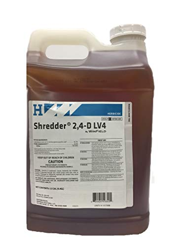 Winfield Shredder 2,4-D LV4 2.5 Gallon (Best Broadleaf Herbicide For Pastures)