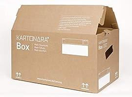 Caja de cartón profesional para mudanzas, 67 litros, 45 kg, 2 ...