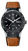 TAG Heuer CONNECTED Luxury Smart Watch (Android/iPhone) (Brown Leather)