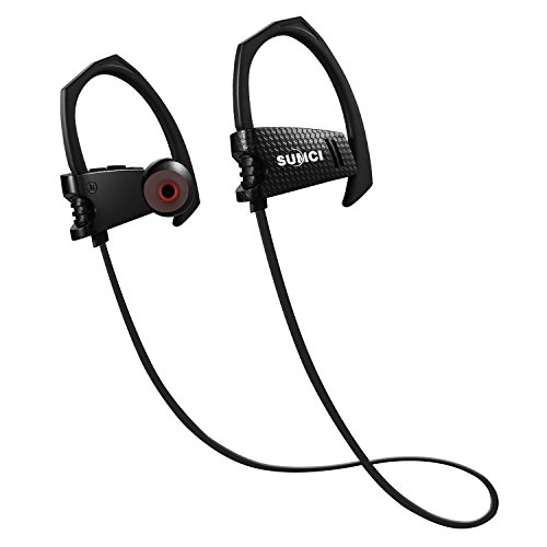 SUMCI Wireless Bluetooth Headphones, In Ear Sports Earphones HD Stereo Sweatproof Sports...