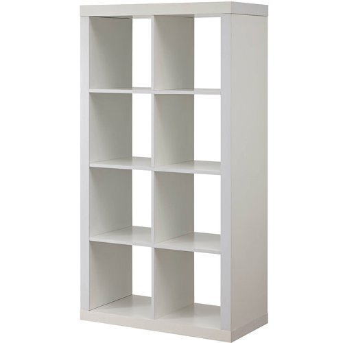 Better Homes and Gardens Furniture 8-Cube Room Organizer Storage Divider/Bookcase (White) from Better Homes and Gardens*
