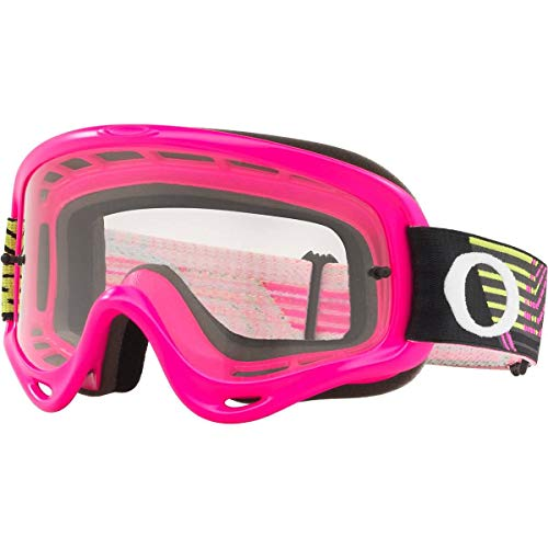 Oakley O Frame MX Adult Off-Road Motorcycle Goggles - Circuit Neon Pink ()