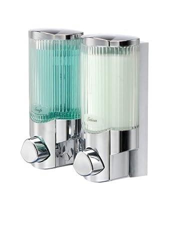 chamber wall dispenser shampoo liquid bottle hand hotel apache soap origin com gel l mount box dinodirect shower silver