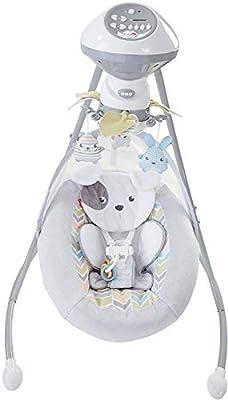 Fisher-Price Sweet Snugapuppy Dreams Cradle n Swing
