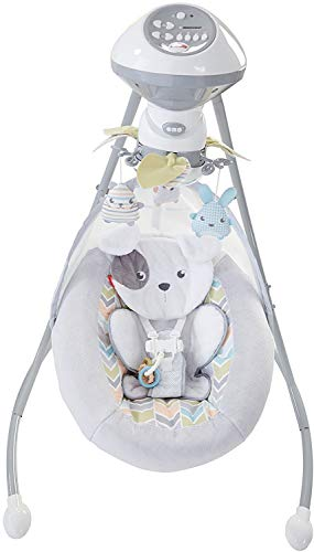 Fisher-Price Sweet Snugapuppy Dreams Cradle n Swing
