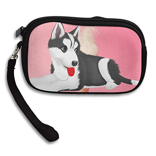 Deluxe Printing Cartoon Portable Purse Small Puppy Husky Receiving Bag wqSOTE