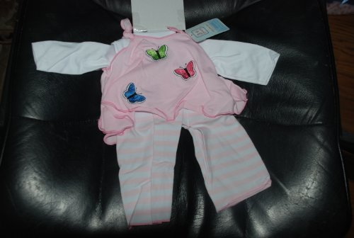 Pink Flutter Doll Outfit By Lee Middleton