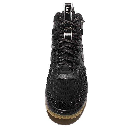 Nike Mænds Månens Kraft 1 DuckStøvler Støvler Sort / Sort-metallisk Sølv-et aUssL