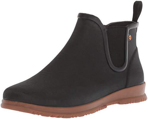 Bogs Women's Sweetpea Rain Boot, Black, 10 M US