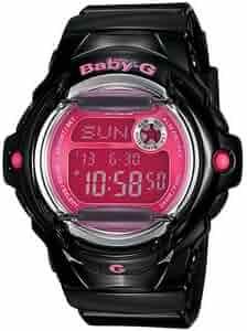 Casio Women's Baby-G BG169R-1B Digital Resin Quartz Sport Watch