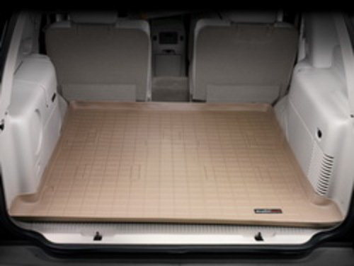WeatherTech Custom Fit Cargo Liners for Lexus LX470 (with 3rd row seats), Tan