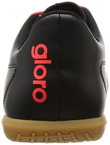 adidas Gloro 16.2 In, Botas de Fútbol Para Hombre Negro (Negbas / Plamet / Rojsol)