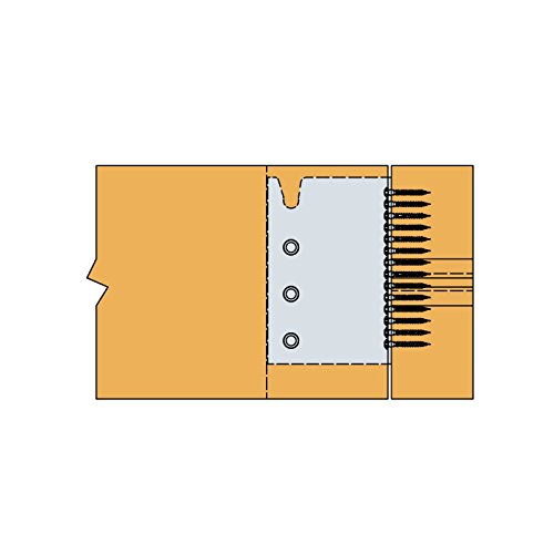 Simpson BT4-160-B Balkentr/äger BT4 160-B feuerverzinkt mit Zulassung