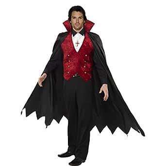 Disfraz Halloween Carnaval Adulto Conte Vampiro Drácula ...
