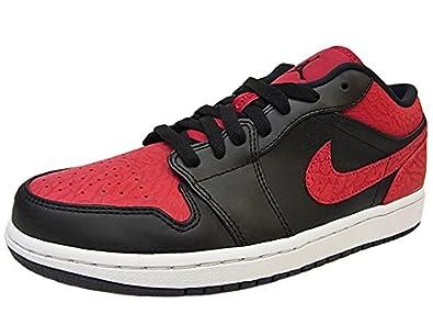 NIKE AIR JORDAN1 LOW ナイキ エア ジョーダン1 ロー 黒赤セメント AJ1 赤黒セメント [