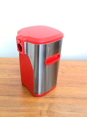 Boxxle Premium 3 Liter Bag-in-Box Wine Dispenser (Red) by BOXXLE LLC