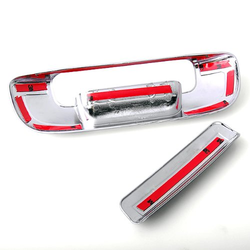 Tailgate Door Chrome Cover Trim For New 2003-2008 DODGE Ram 1500 3500 Pickup New Chrome Door Handle Cover trims