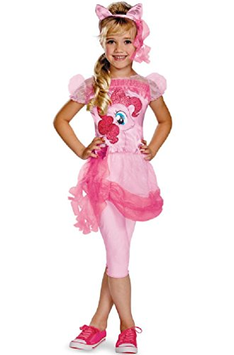 [8eighteen My Little Pony Pinkie Pie Classic Child Costume] (My Little Pony Costume For Dogs)