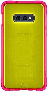 Case-Mate - Tough Neon - Samsung Galaxy S10e - Neon Case - Green/Pink Neon